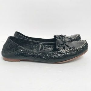 Coach • Women's Patent Leather Junie Flats Size 7B